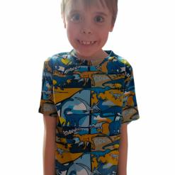 unisex tee shirts age 2 to 12