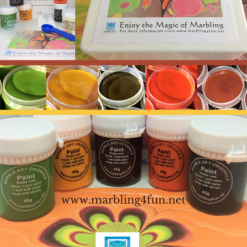 Marbling 4 Fun Primary Kit - Book and Containers