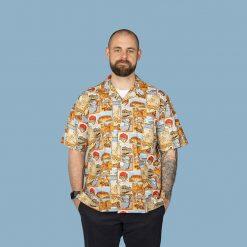 Australian themed men's casual shirt