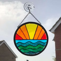 Handcrafted Gift Sun and Sea Sun Catcher