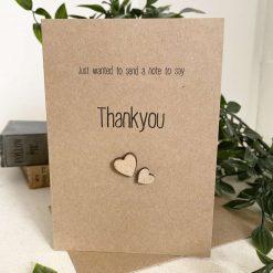Rustic Thankyou Card