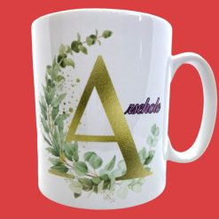 A is for arsehole personalised  11oz Mug