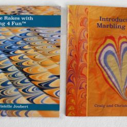 Two Published Marbling 4 Fun Books - How to Marble tutorials