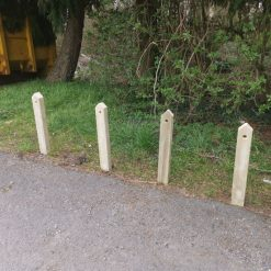 Wooden Budget Range Posts for Gardens, Decking and Driveways