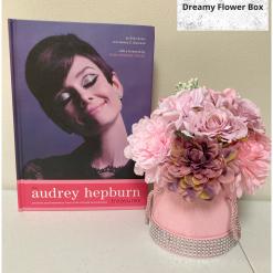 Silk & Foam Flower Hat Box