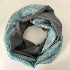 Liberty tana lawn and bamboo jersey infinity scarf 3
