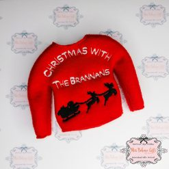 Personalised Naughty Elf Christmas with the Family Jumper