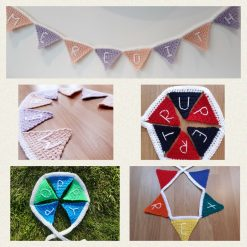 Personalised Name Bunting - Up to 10 Flags