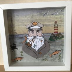 Sailor in a Boxed Frame