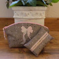 Make Up/Cosmetic Bag & Tissue Holder