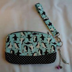 Penguin Clematis Clutch Bag
