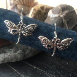 Earrings-Dragonflies