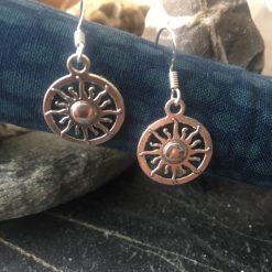 Earrings-Sun Wheels