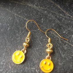 Earrings-Smiley Face Emoticon