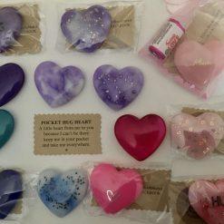 Resin Pocket Hug Heart