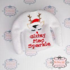 Personalised Naughty Elf Name Christmas Jumper
