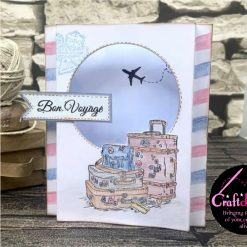 For The Love Of Stamps - Hunkydory - Designer Selection 2 - Gin-credible - A6 Clear Stamp Set 3