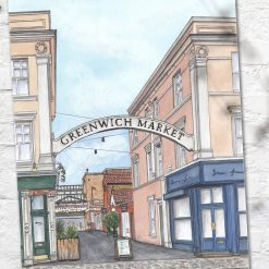 Greenwich Market, London, A4 or A3