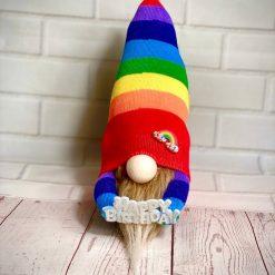 Happy Birthday Rainbow Gnome