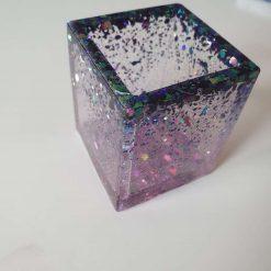 Square jar pot