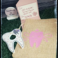 Tooth fairy set Pink