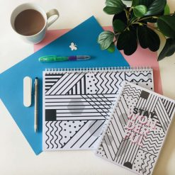 The Stay Wonderful Daily and Weekly Planner Bundle is Here! Personalised. Daily Planner- A5, 180 pages. Weekly Planner- 52 colourful pages for 52 weeks.