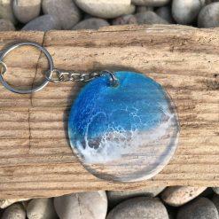 - Wave | Surf | Key Ring | Bag Charm