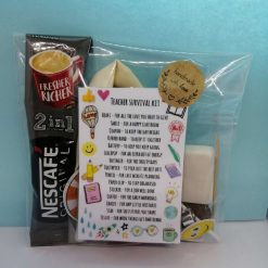 Survival Kit Gift Bag, for Teachers, New Home, hen party favours, Lockdown,
