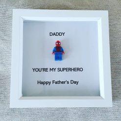 Father's Day Superhero Frame