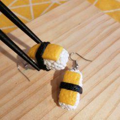 Sushi me yellow....drop earrings