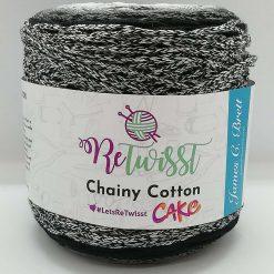 Chainy cotton cakes retwisst RCC02 Black grey white mix250g