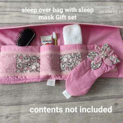Sleep over toiletry bag with sleep mask Gift set
