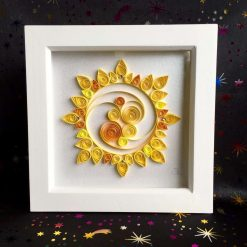 Paper Quilling Sun Frame