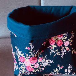 Floral Fabric basket