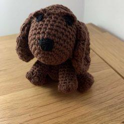 Handmade Crochet Cocker Spaniel Dog
