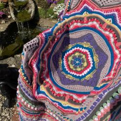 Sacred Space Crochet Blanket/Throw