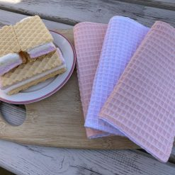 Cotton Waffle Cleaning Cloths (pack of 3)