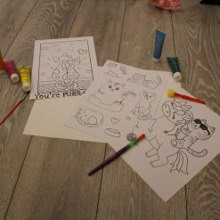 Kids Make Your Own Magnets, Colour In Your Own Magnets And Colouring Sheet Unicorn, Unicorn Crafts