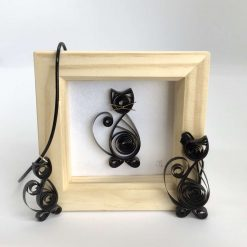 Paper Quilling Cat Frame