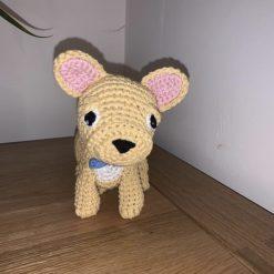 Handmade Crochet French Bulldog