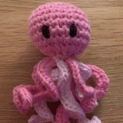 Handmade Crochet Octopus