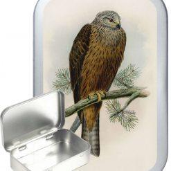 Kite Hinged Tin, Pocket Tin, Pill Tin, Sewing Tin, Storage Tin, 50ml Tin