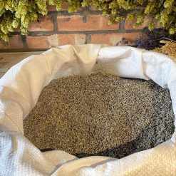 50 grams of Loose Dried Natural Aromatic Lavender in clear bag