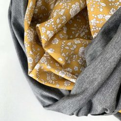 Liberty tana lawn and bamboo jersey infinity scarf 2