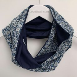 Liberty tana lawn and bamboo jersey infinity scarf 1