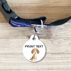 Beagle Dog Tag