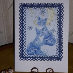 Fantasy Foxes Any Occasion Card