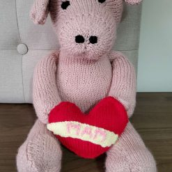 Knitted Toy Pig