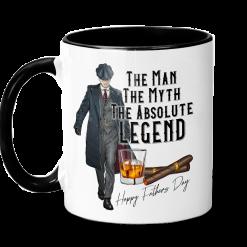 The Man The Myth The Legend - Peaky Blinders Themed Ceramic Mug