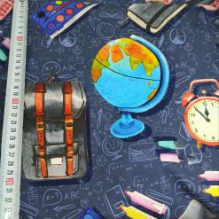 School, Education, Fabric, French Terry, 4 Way Stretch